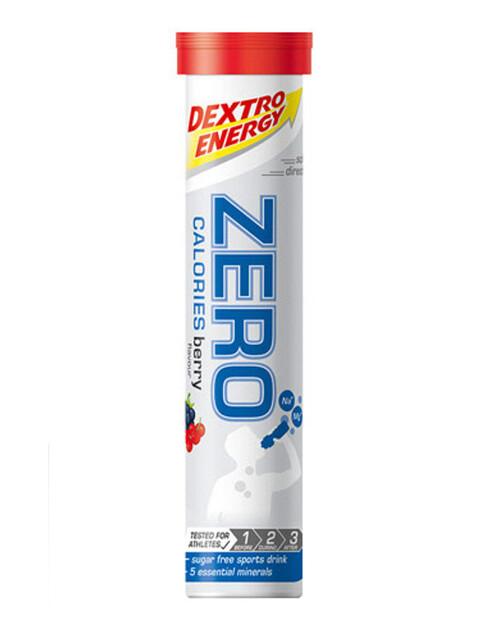 Dextro Energy Zero Calories Alimentazione sportiva Berry 20 Tabs